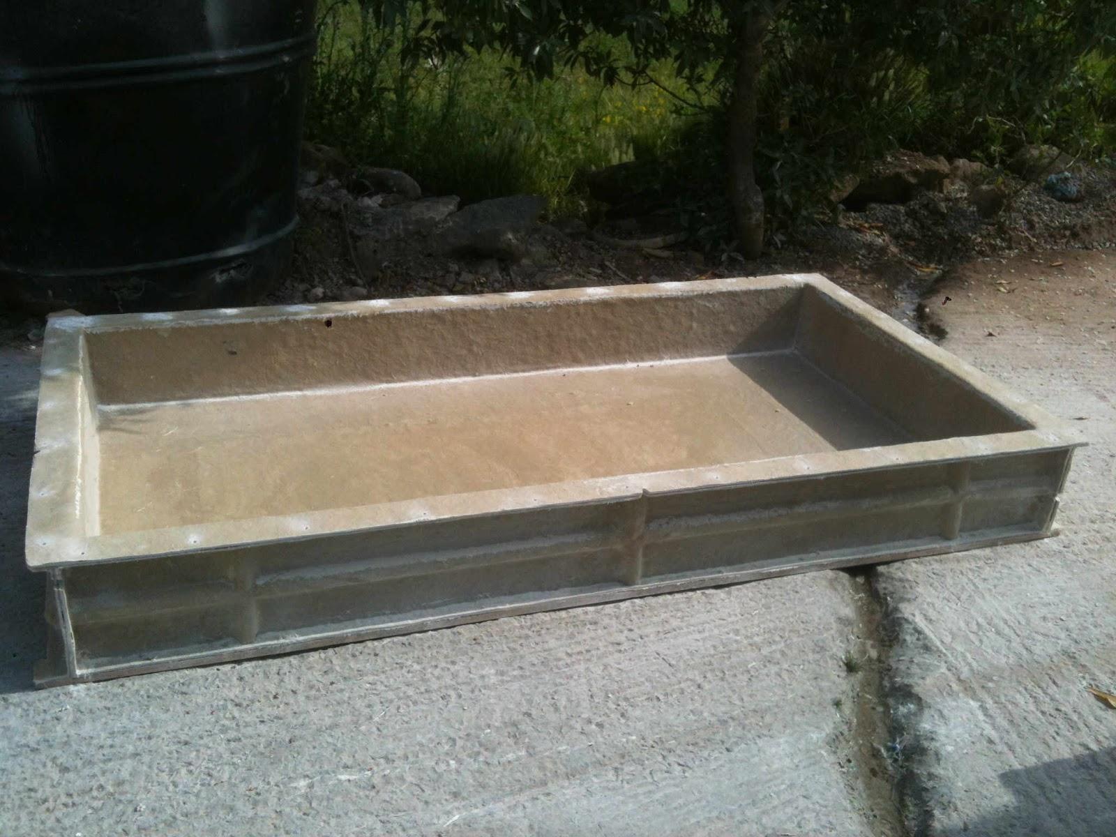 bassin resine