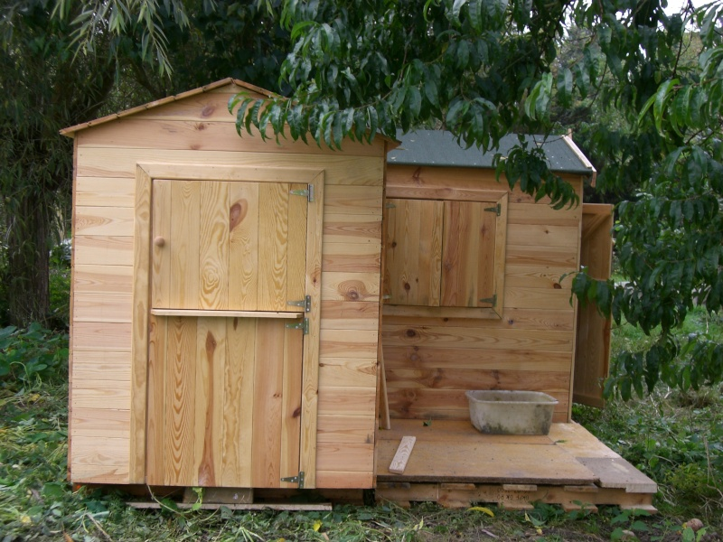 cabane en bois pour chevre