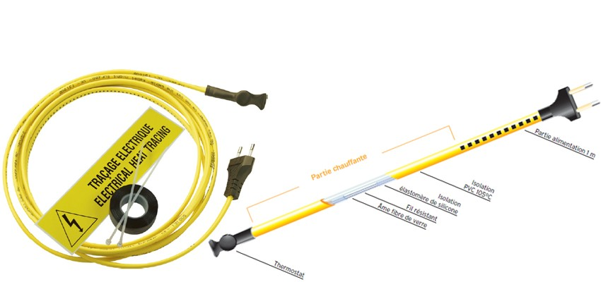 cable chauffant antigel