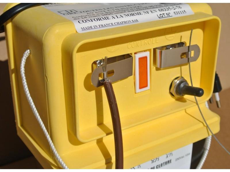 cloture electrique sur secteur