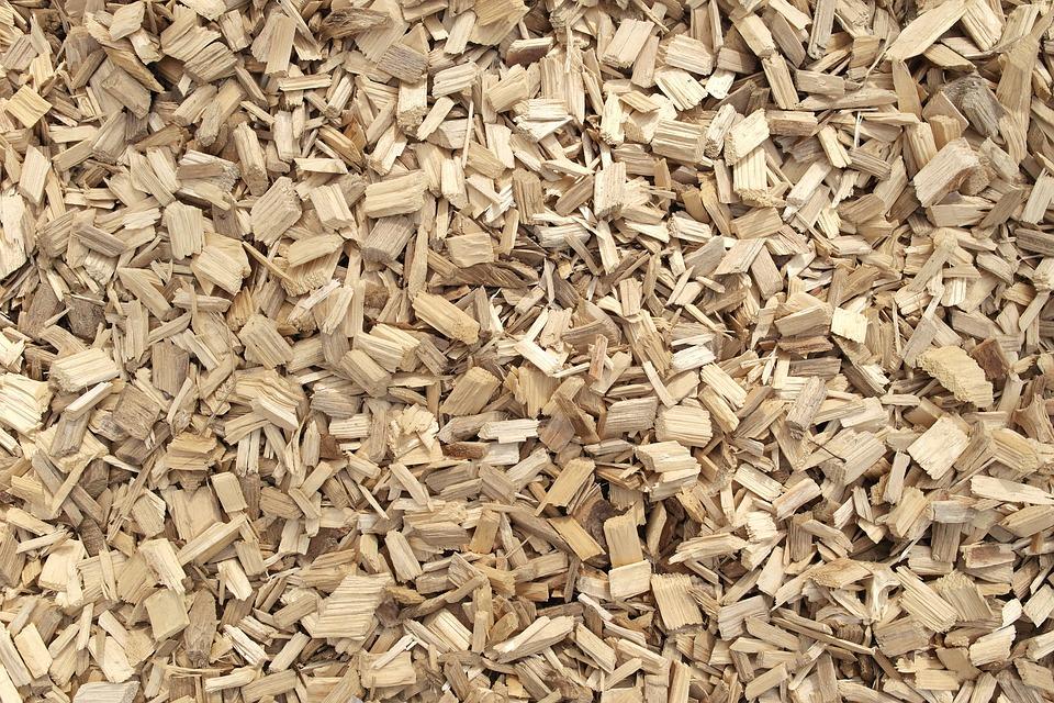 copeaux de bois