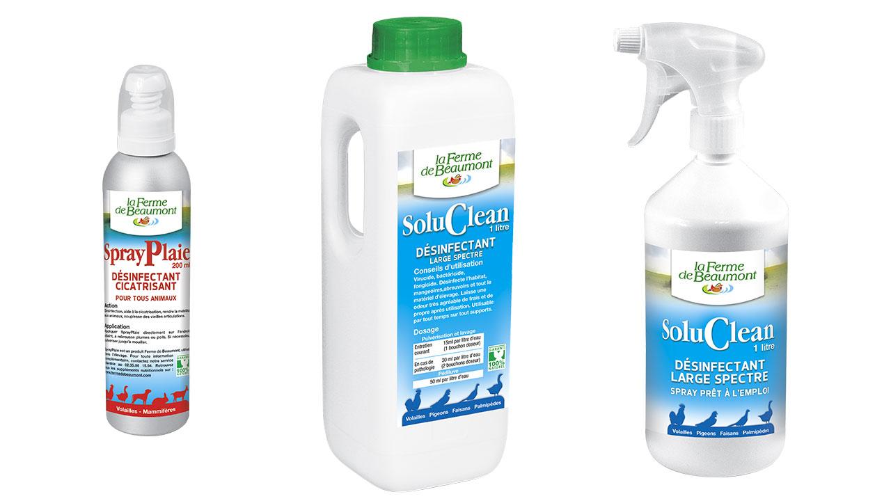 desinfectant poulailler