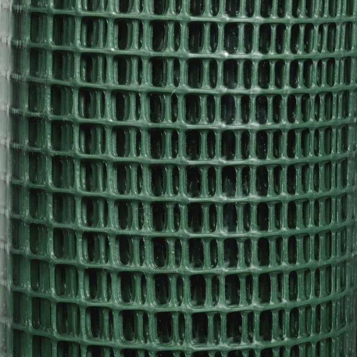 grillage en plastique vert
