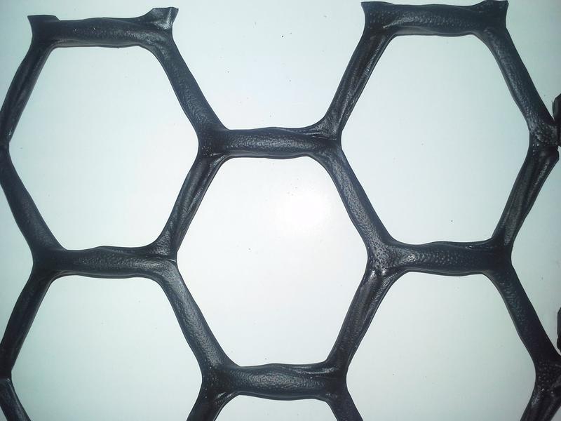 grillage plastique noir