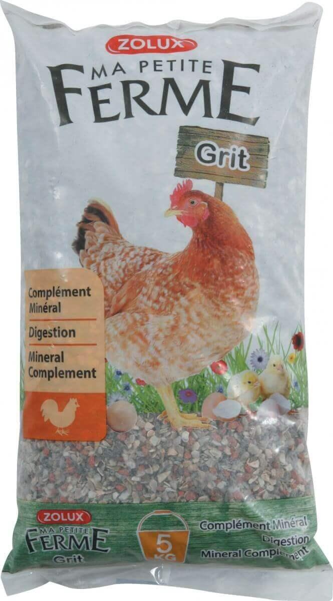 grit pour poules