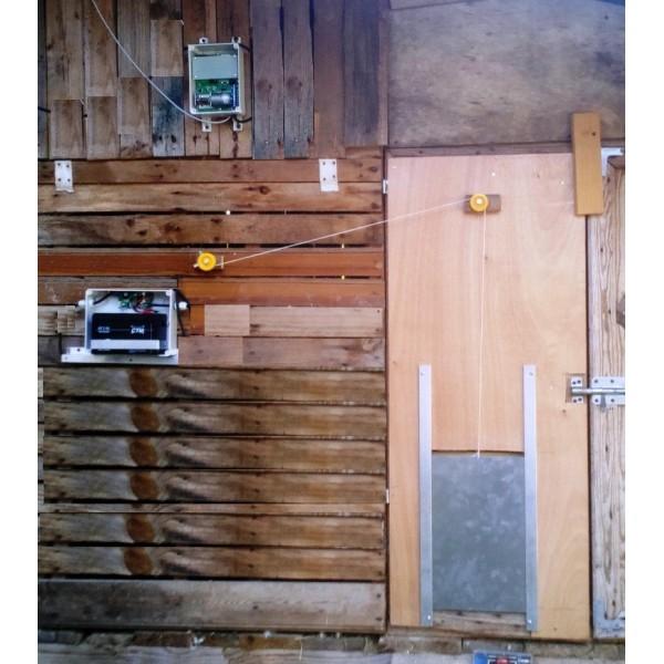 porte automatique poulailler solaire