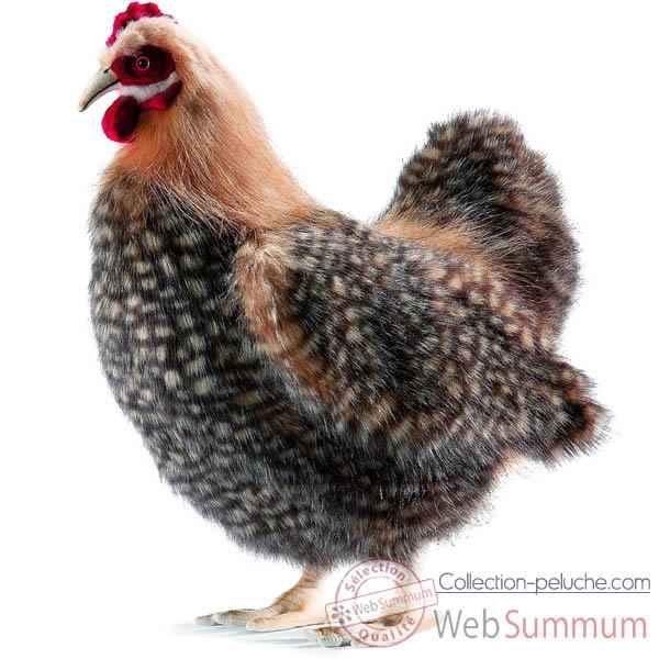 poule en peluche