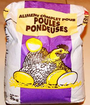 nourriture poule pondeuse pas cher